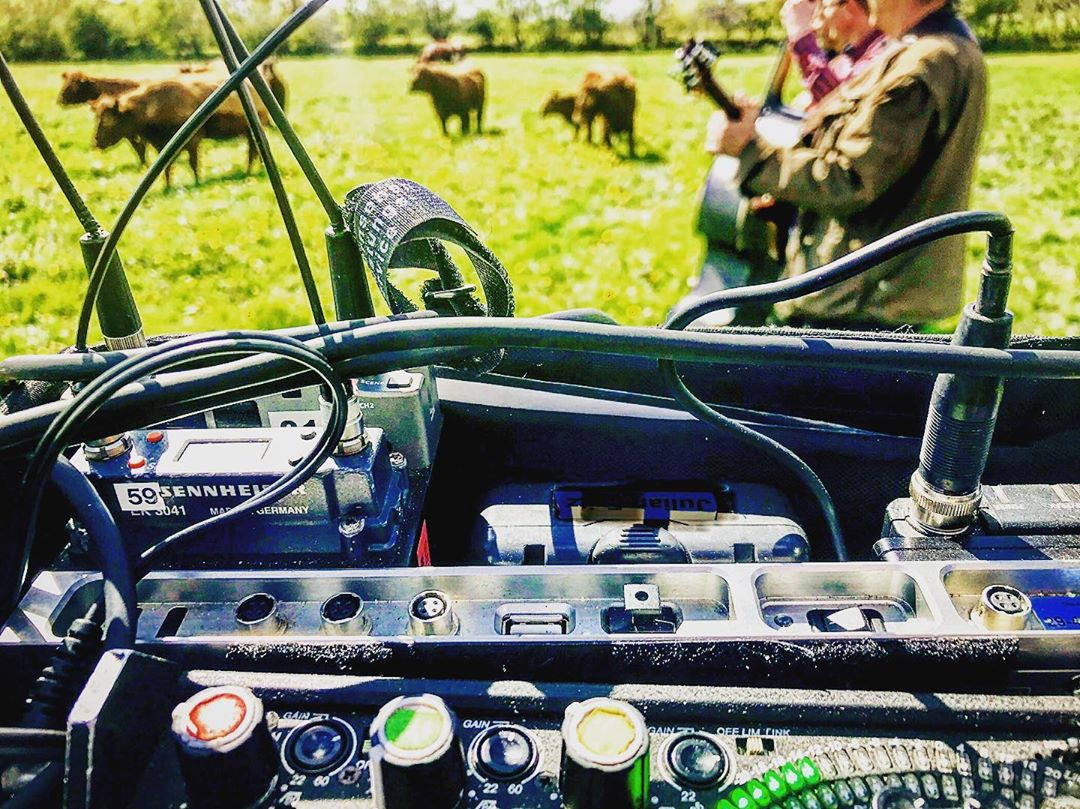 via Instagram: Some Farmers Rockmusik for the Cows #302